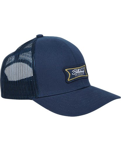 3 Walled Trucker Hat Blau N5CT03BIP9 Billabong
