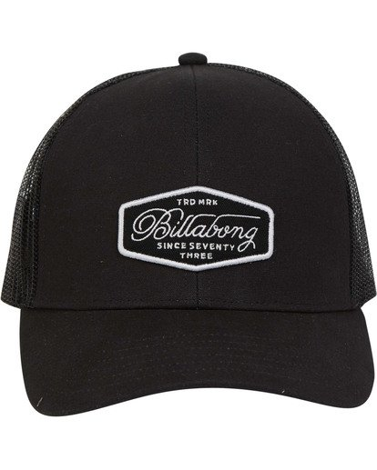 0 Walled Trucker Hat Schwarz N5CT03BIP9 Billabong