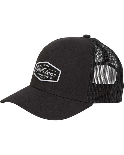 2 Walled Trucker Hat Schwarz N5CT03BIP9 Billabong