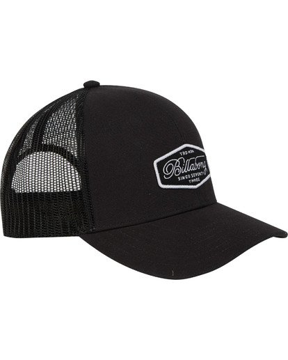 3 Walled Trucker Hat Schwarz N5CT03BIP9 Billabong