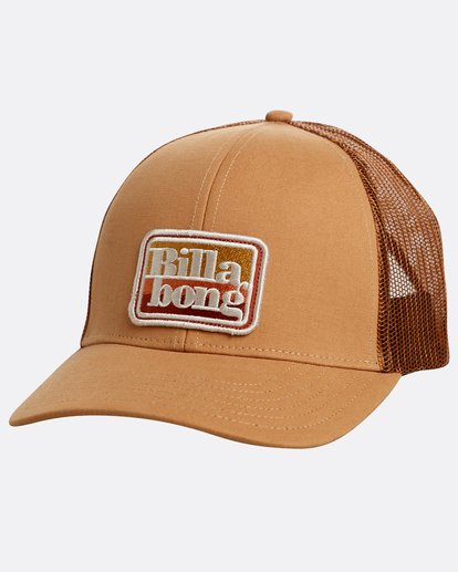 0 Walled Trucker Hat Beige N5CT03BIP9 Billabong