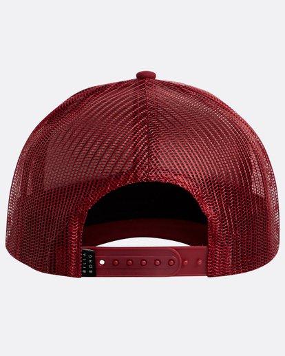 2 Walled Trucker Hat Rot N5CT03BIP9 Billabong