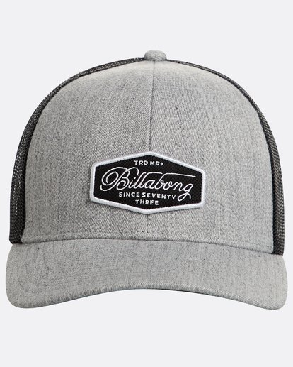 1 Walled Trucker Hat Grey N5CT03BIP9 Billabong