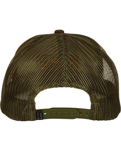 1 Flatwall Trucker Hat Camo N5CT04BIP9 Billabong