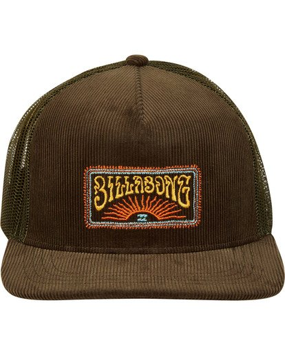 0 Flatwall Trucker Hat Camo N5CT04BIP9 Billabong