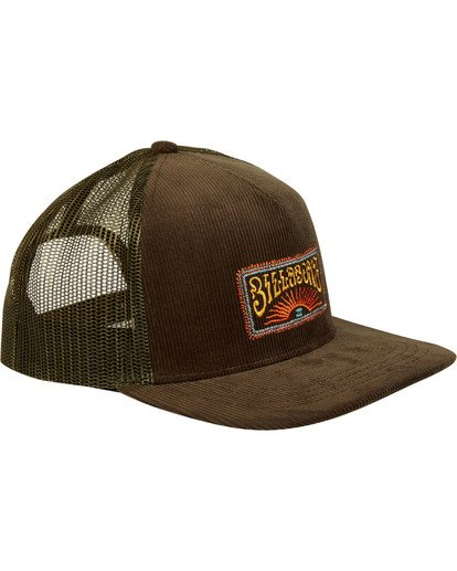 3 Flatwall Trucker Hat Camo N5CT04BIP9 Billabong