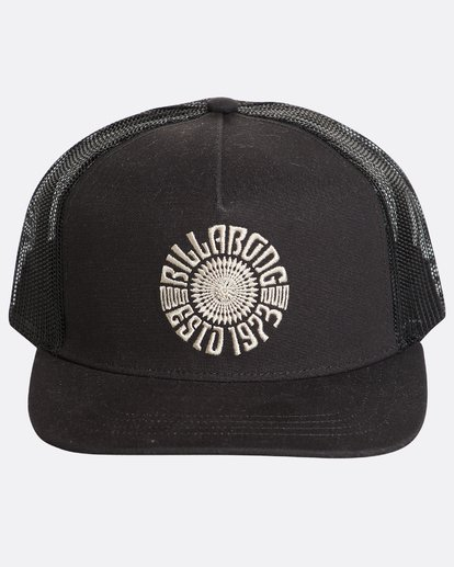 1 Flatwall Trucker Hat Noir N5CT04BIP9 Billabong