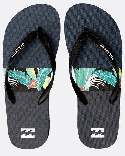 0 Tides Tribong Sandals Schwarz N5FF01BIP9 Billabong