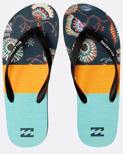 0 Tides Tribong Sandals Blau N5FF01BIP9 Billabong
