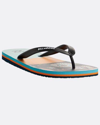 4 Tides Tribong Sandals Blau N5FF01BIP9 Billabong