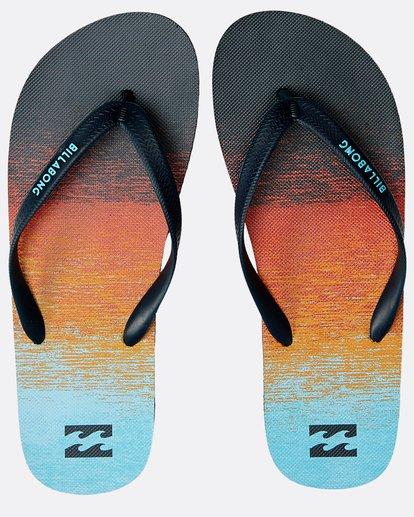 0 Tides 73 Stripe Sandals Orange N5FF03BIP9 Billabong