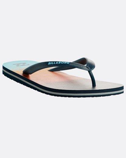 4 Tides 73 Stripe Sandals Orange N5FF03BIP9 Billabong