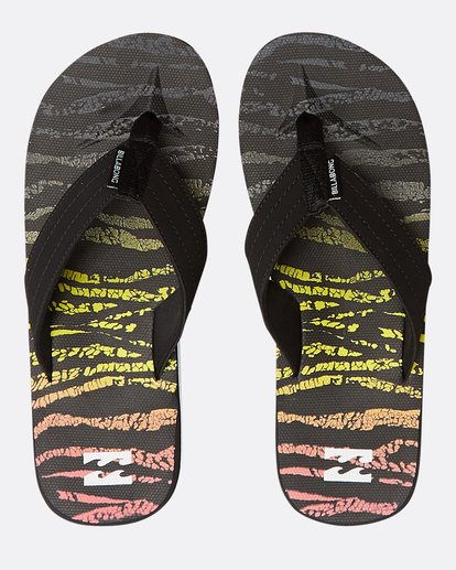 0 All Day Theme Sandals Black N5FF07BIP9 Billabong