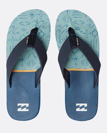 0 All Day Theme Sandals Blue N5FF07BIP9 Billabong