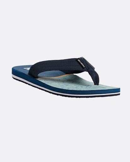 4 All Day Theme Sandals Blue N5FF07BIP9 Billabong