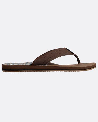 1 All Day Theme Sandals Braun N5FF07BIP9 Billabong