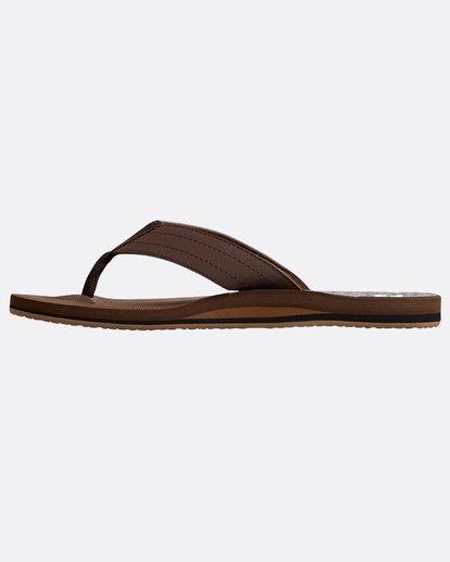 2 All Day Theme Sandals Braun N5FF07BIP9 Billabong