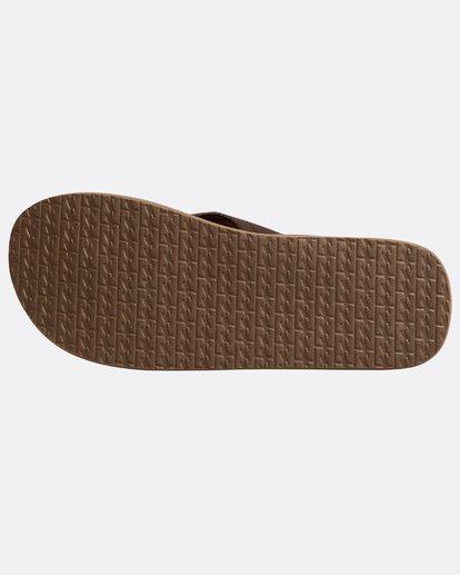 3 All Day Theme Sandals Braun N5FF07BIP9 Billabong