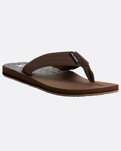 4 All Day Theme Sandals Braun N5FF07BIP9 Billabong