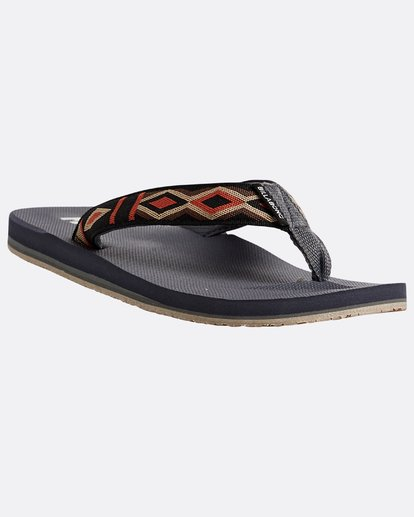 4 All Day Woven Sandals Grey N5FF08BIP9 Billabong