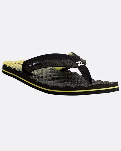 4 Dunes Fluid Sandals Gelb N5FF09BIP9 Billabong
