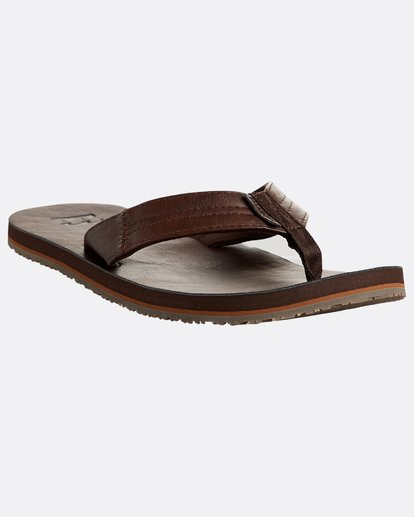 4 Seaway Classic Sandals Braun N5FF11BIP9 Billabong