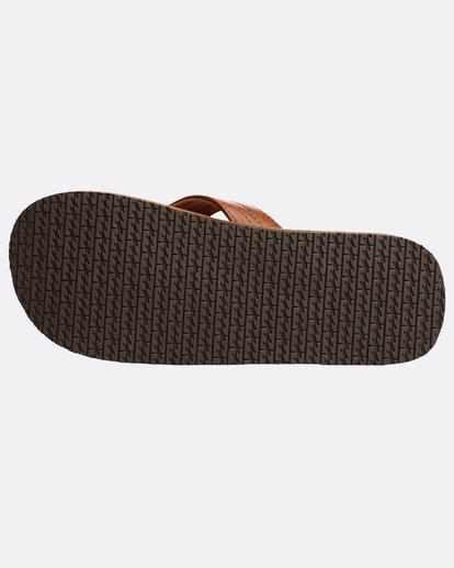 3 Seaway Classic Sandals Beige N5FF11BIP9 Billabong
