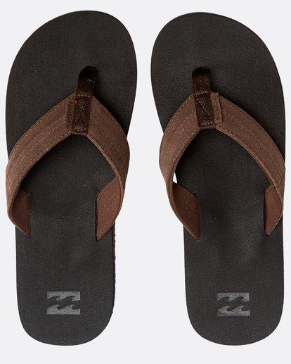 0 Seaway Suede Sandals Schwarz N5FF12BIP9 Billabong