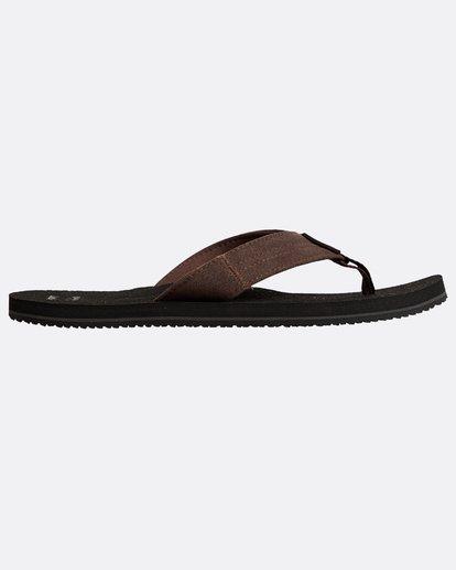 1 Seaway Suede Sandals Schwarz N5FF12BIP9 Billabong