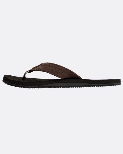 2 Seaway Suede Sandals Schwarz N5FF12BIP9 Billabong