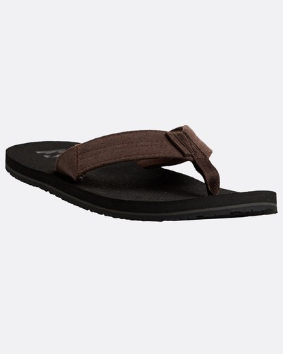 4 Seaway Suede Sandals Schwarz N5FF12BIP9 Billabong