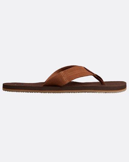1 Seaway Suede Sandals Braun N5FF12BIP9 Billabong