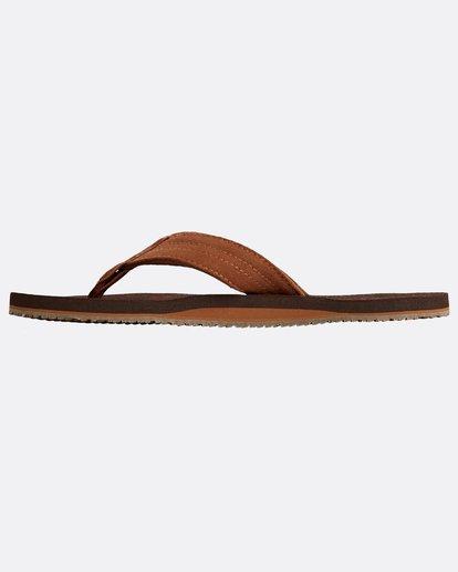 2 Seaway Suede Sandals Braun N5FF12BIP9 Billabong