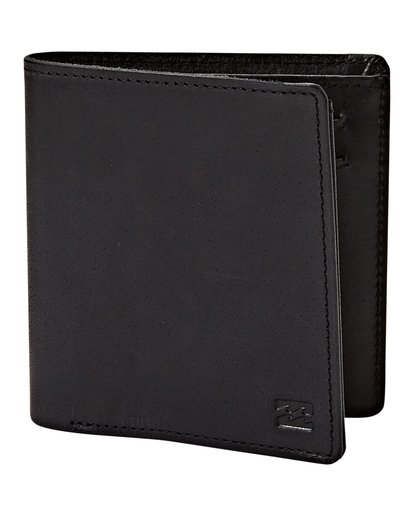 3 Gaviotas - Leder-Brieftasche für Männer Schwarz N5LW01BIP9 Billabong