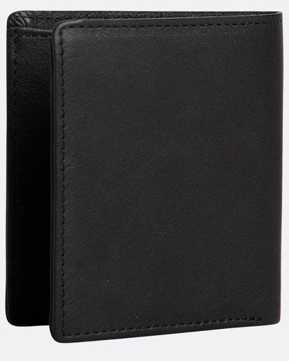 1 Gaviotas - Leder-Brieftasche für Männer Schwarz N5LW01BIP9 Billabong