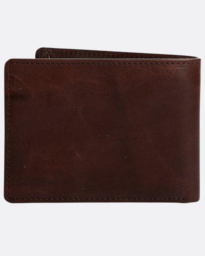 1 Vacant Leather - Leder-Brieftasche für Herren Braun N5LW02BIP9 Billabong