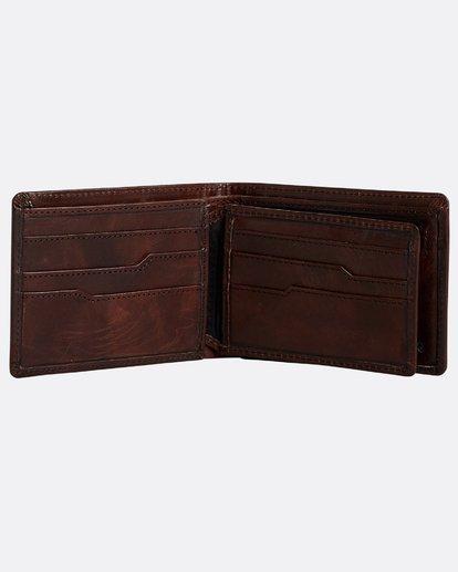 2 Vacant Leather - Leder-Brieftasche für Herren Braun N5LW02BIP9 Billabong