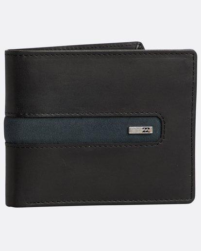 0 Dbah Leather - Leder-Brieftasche für Herren Schwarz N5LW03BIP9 Billabong