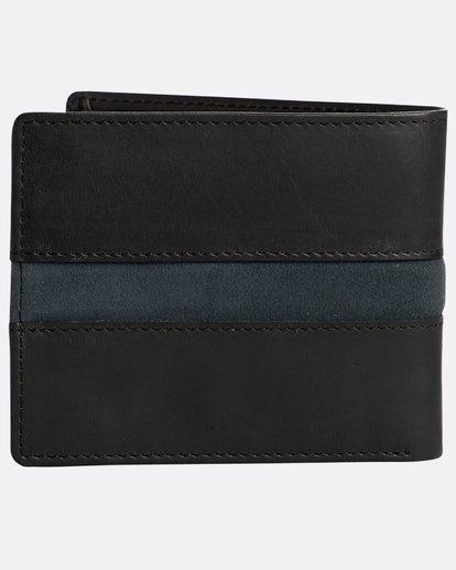 1 Dbah Leather - Leder-Brieftasche für Herren Schwarz N5LW03BIP9 Billabong
