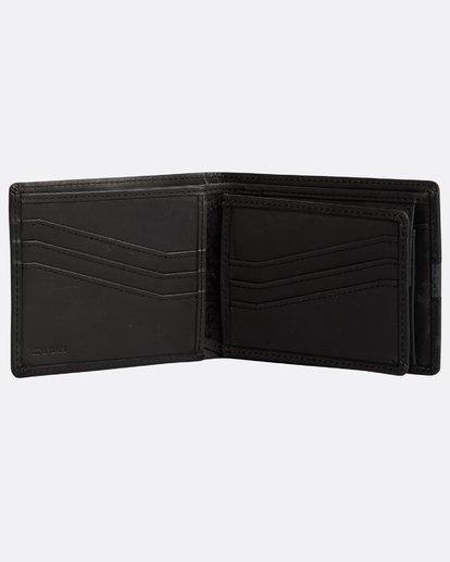 2 Dbah Leather - Leder-Brieftasche für Herren Schwarz N5LW03BIP9 Billabong