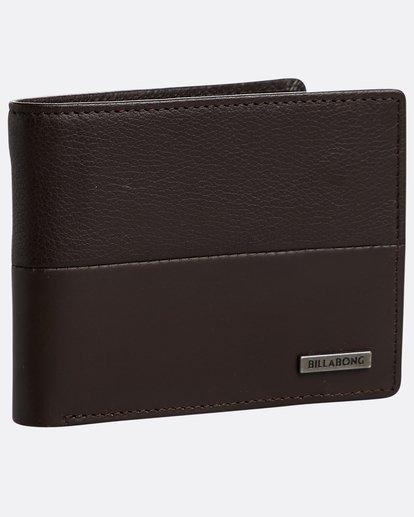 0 Fifty50 Id - Leder-Brieftasche für Männer Braun N5LW04BIP9 Billabong