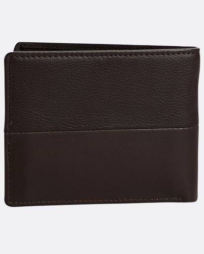 1 Fifty50 Id - Leder-Brieftasche für Männer Braun N5LW04BIP9 Billabong