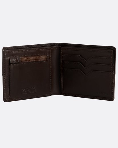 2 Fifty50 Id - Leder-Brieftasche für Männer Braun N5LW04BIP9 Billabong