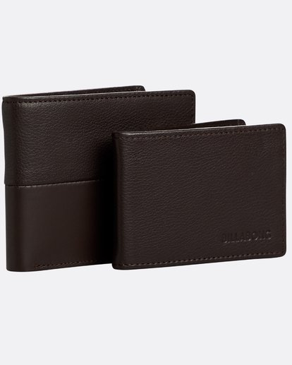 3 Fifty50 Id - Leder-Brieftasche für Männer Braun N5LW04BIP9 Billabong