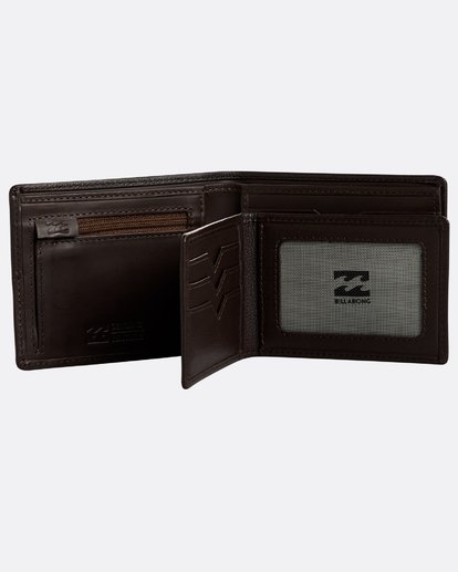 4 Fifty50 Id - Leder-Brieftasche für Männer Braun N5LW04BIP9 Billabong