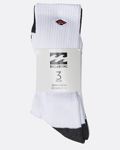 0 Mixed Bag Crew Sock  N5SO01BIP9 Billabong