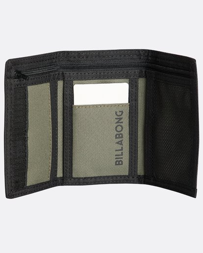 2 Walled 600D Wallet  N5WL02BIP9 Billabong