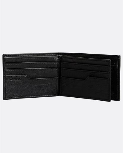 2 Vacant - Brieftasche für Herren Schwarz N5WM04BIP9 Billabong