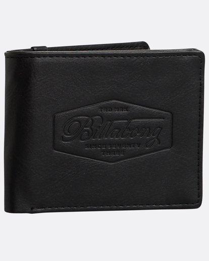 0 Walled Wallet Noir N5WM05BIP9 Billabong