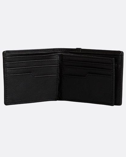 2 Walled Wallet Noir N5WM05BIP9 Billabong